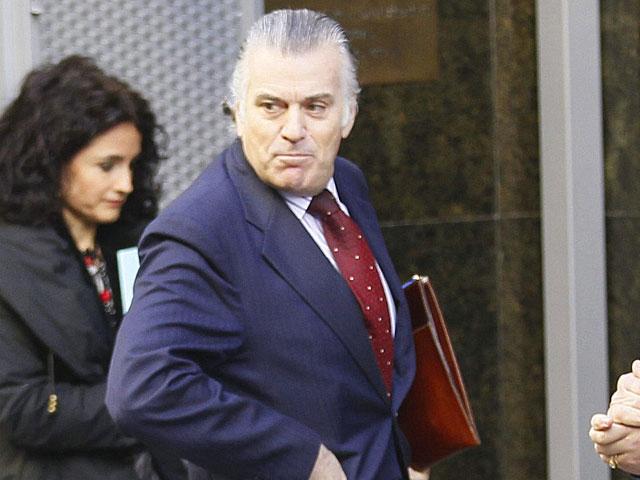 Luis Bárcenas, a su llegada a la Audiencia Nacional. | Foto: Efe / Paco Campos.