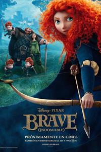Cartel de 'Brave (Indomable)'