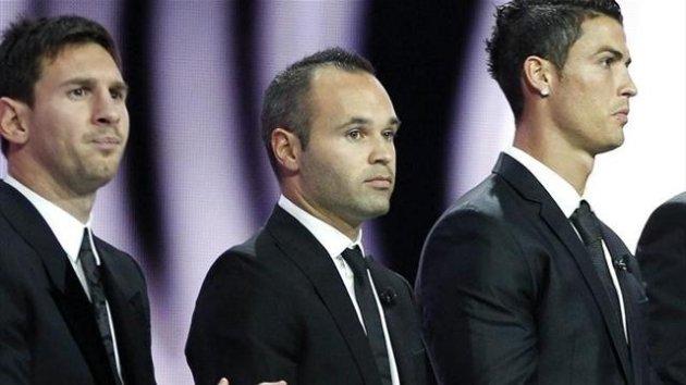 Iniesta, mejor jugador europeo para la UEFA
