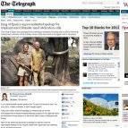 Varias noticias de diarios online en las que las disculpas del rey se han convertido en protagonistas.